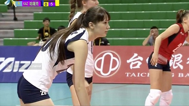 Sexy videos of girls playing volley ball