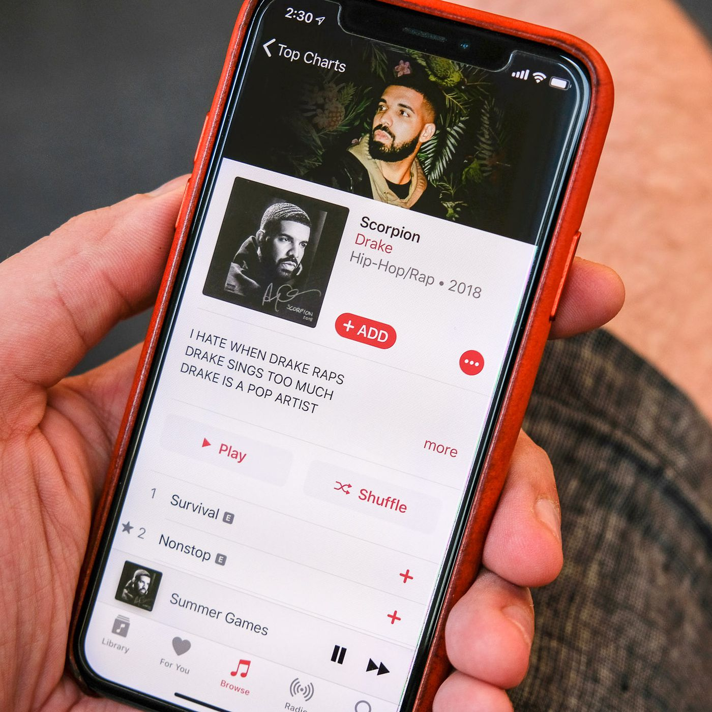 Free music for apple music