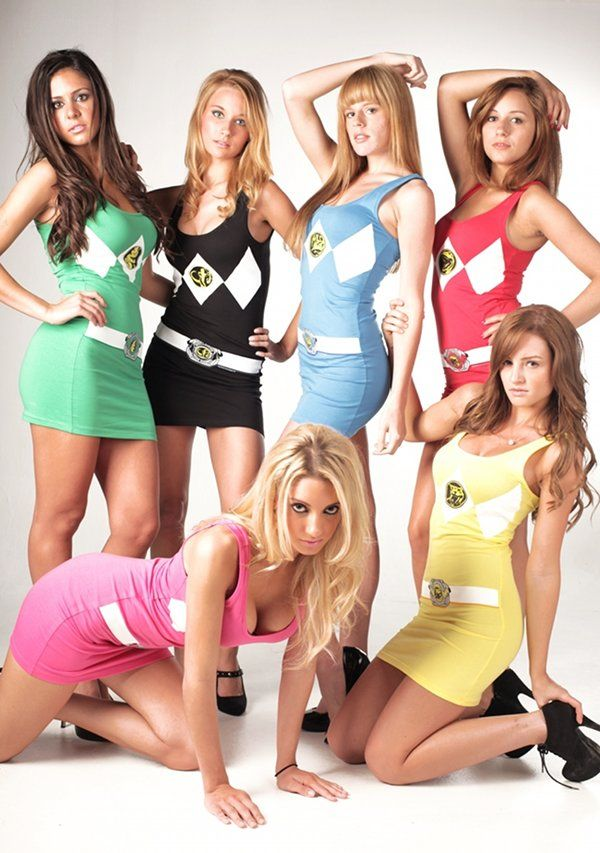 Sexy images of power ranger girl